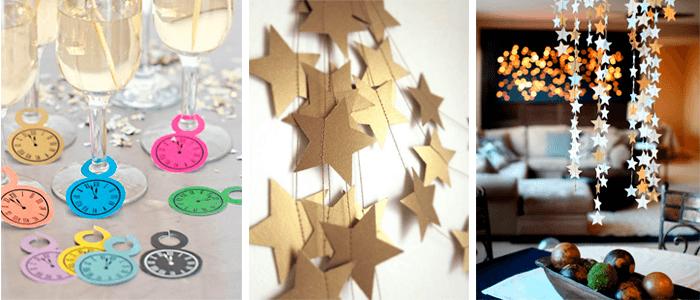 decoracao de ano-novo ideias