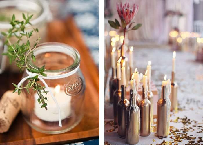 montar-uma-mesa-de-jantar-velas