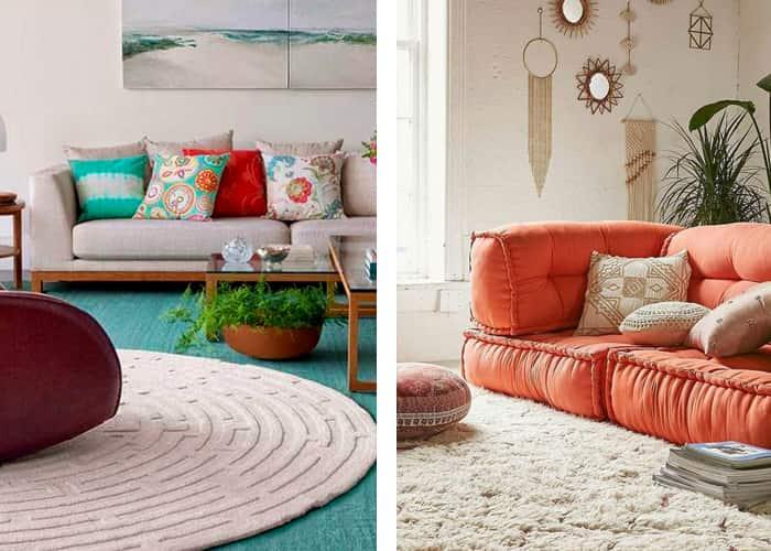 como decorar a casa para a copa desmontavel tapetes