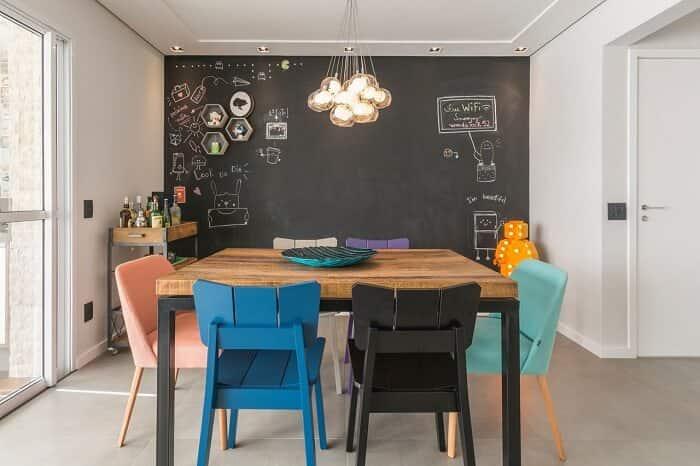 Decoração da sala de estar Idealizzare Arquitetos