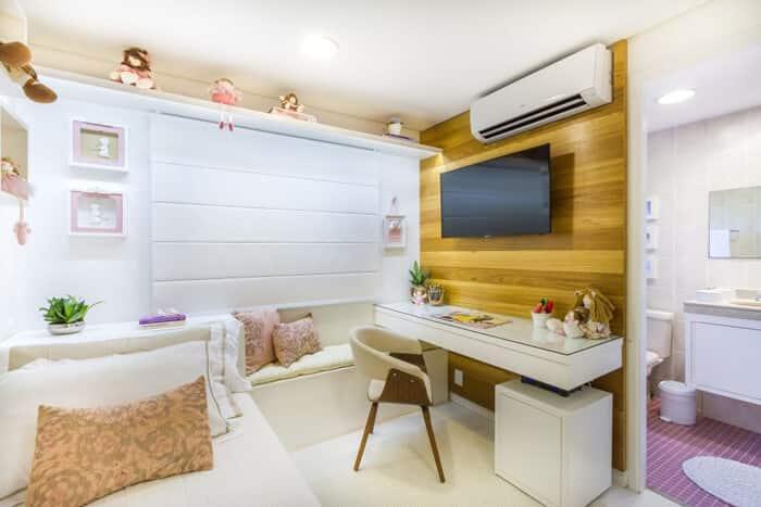 painel para tv quarto infantil