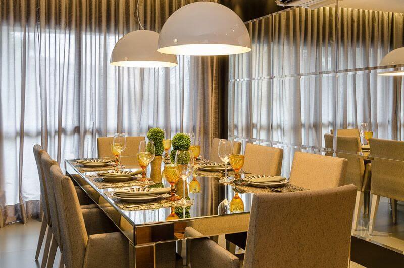 modelos de mesa de jantar BG Arquitetura