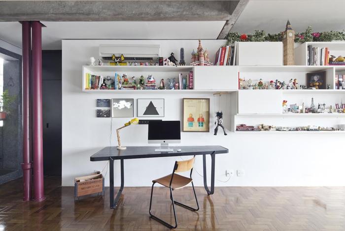 mesa para computador destaque na decoração