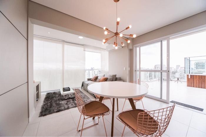 estilo clean sala moderna