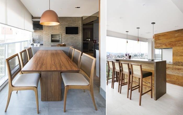 móveis para varanda gourmet