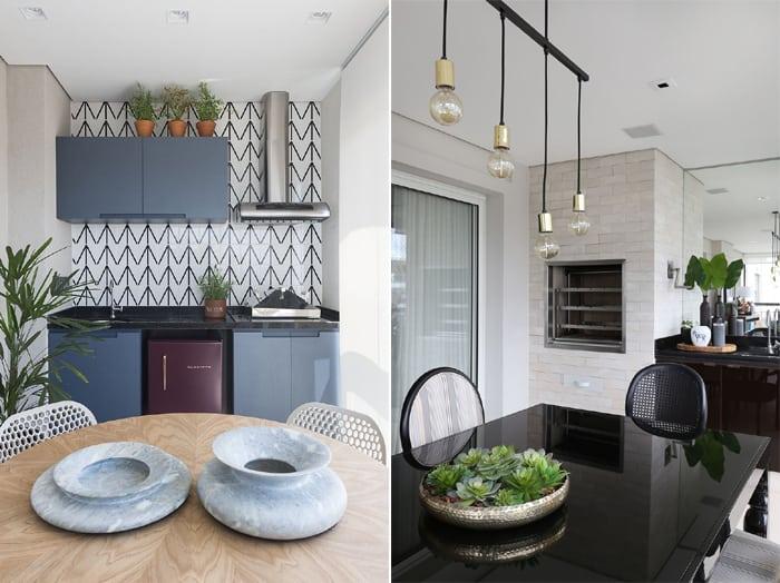 móveis para varanda gourmet decoracao