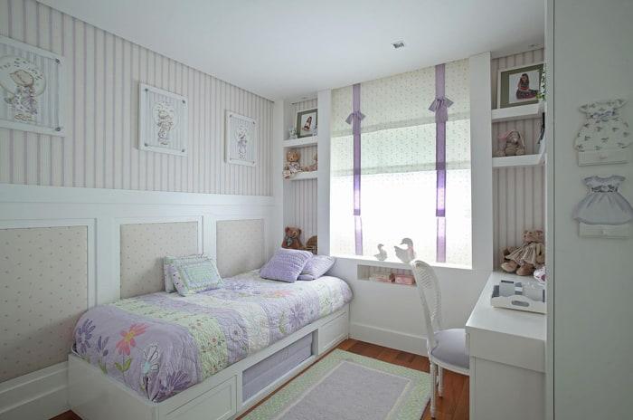 cortina na decoração quarto infantil