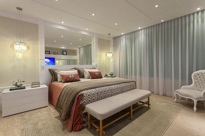 cortinas na decoração quarto