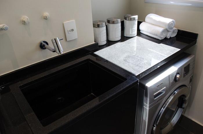 espaço da lavanderia maquinas