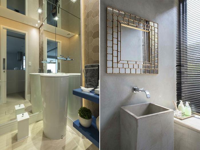 cubas e lavatórios espelhos