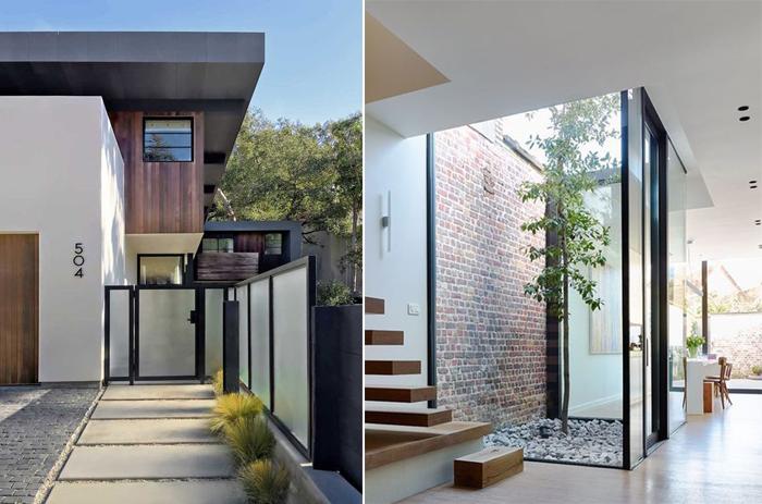 porta de vidro arquitetura
